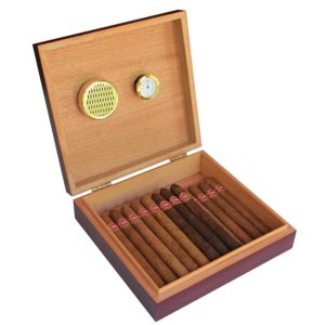 Cherry Finish Spanish Cedar Humidor