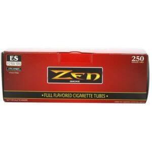Zen King Size Full Flavor Cigarette Tubes