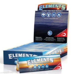 Elements 1.25 1 1/4 Size Ultra Thin Rice Rolling Paper