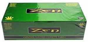 Zen Menthol 100mm Cigarette Tubes