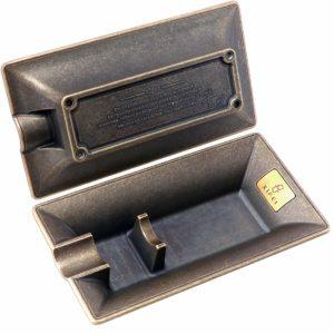 XIFEI Fashion Vintage Cigar Ashtray Bronze Color Household Cigar