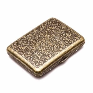 Retro Metal Cigarette Case Box