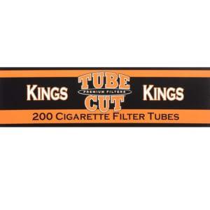 Gambler Tube Cut Regular King Size RYO Cigarette Tubes 200ct Box