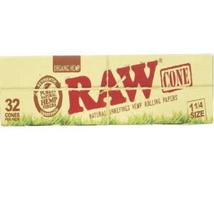 RAW Organic Unrefined Pre-Rolled Cone