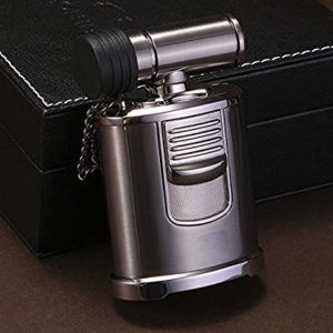 Best Cigar Lighter - High End Table Top 4 Jet Adjustable Torc
