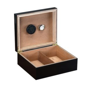 Prestige Import Group Chalet Black Cigar Humidor