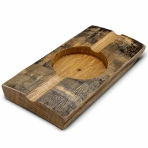 Briar and Oak Bourbon Barrel Stave Cigar Ashtray