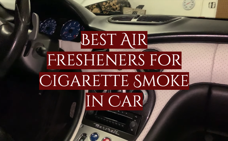 5 Best Air Fresheners for Cigarette Smoke in Car