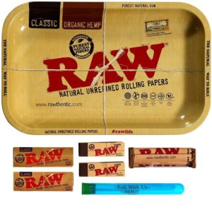 RAW Rolling Tray Combo Includes Tray