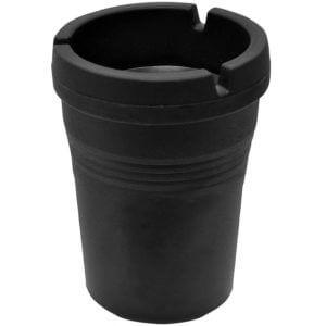 Custom Accessories 93365D Black Smokeless Ashtray