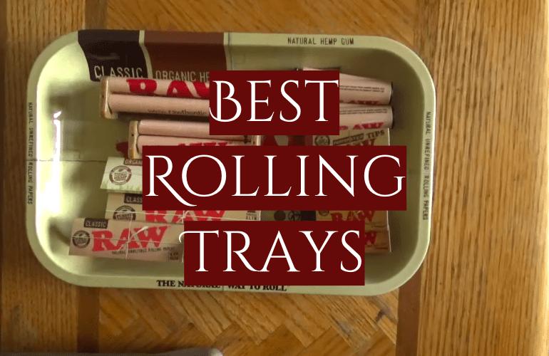 5 Best Rolling Trays