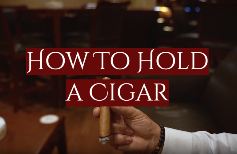 How To Hold a Cigar in a Proper Way: Different Styles and Expert Tips