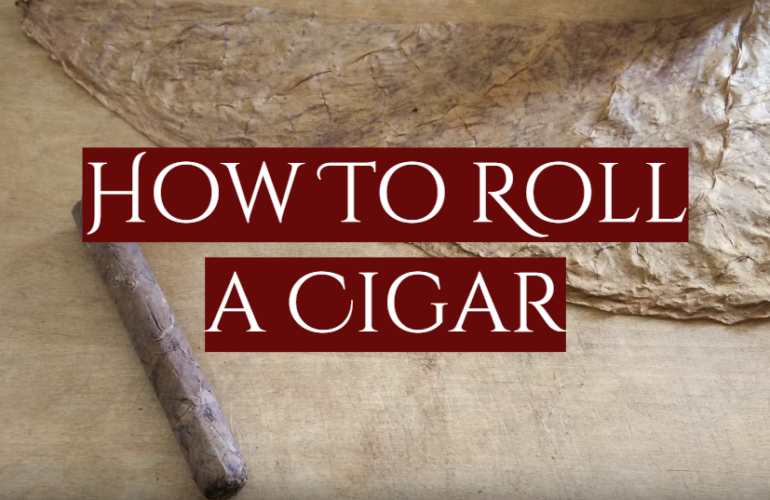 How To Roll a Cigar at Home
