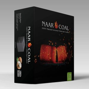 Naar Coal 100% Natural Coconut Hookah Charcoal Cubes
