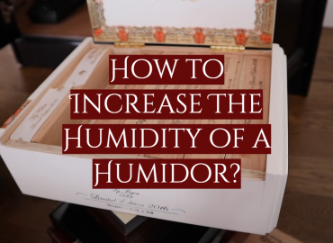 How to Increase The Humidity of a Humidor_
