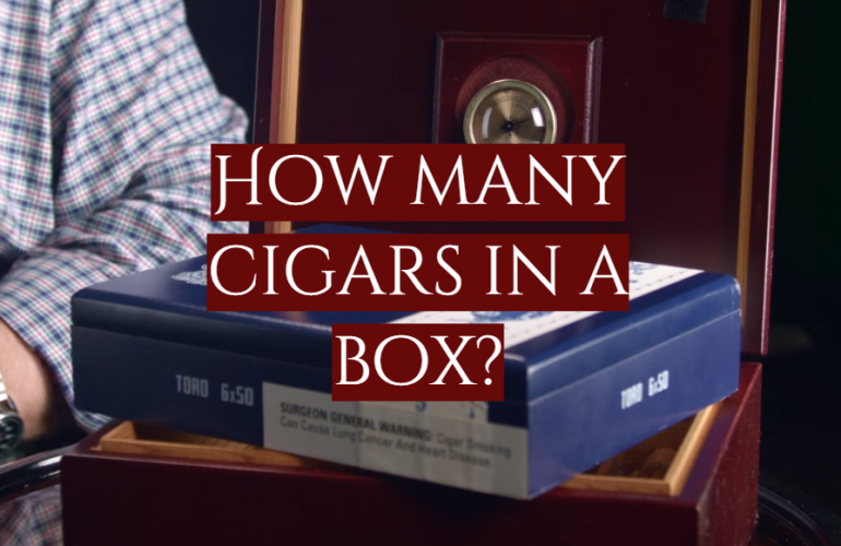 How Many Cigars in a Box?