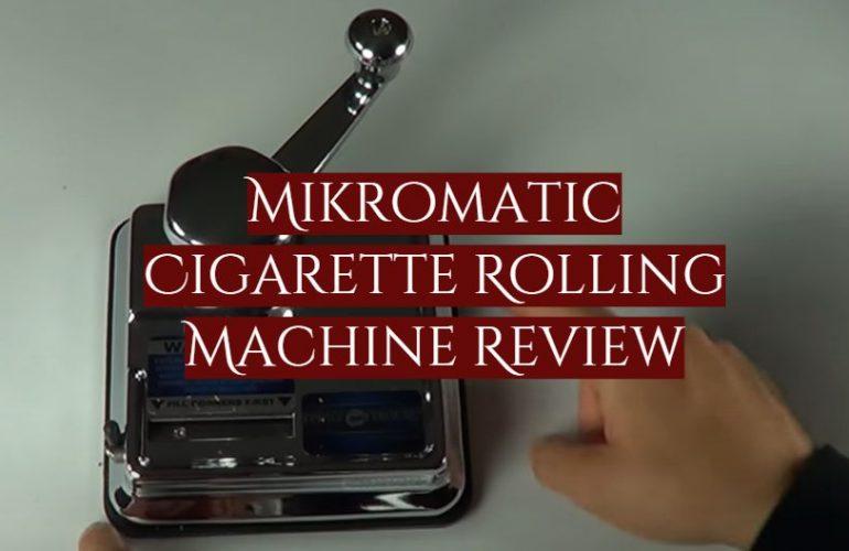 Mikromatic Cigarette Rolling Machine Review