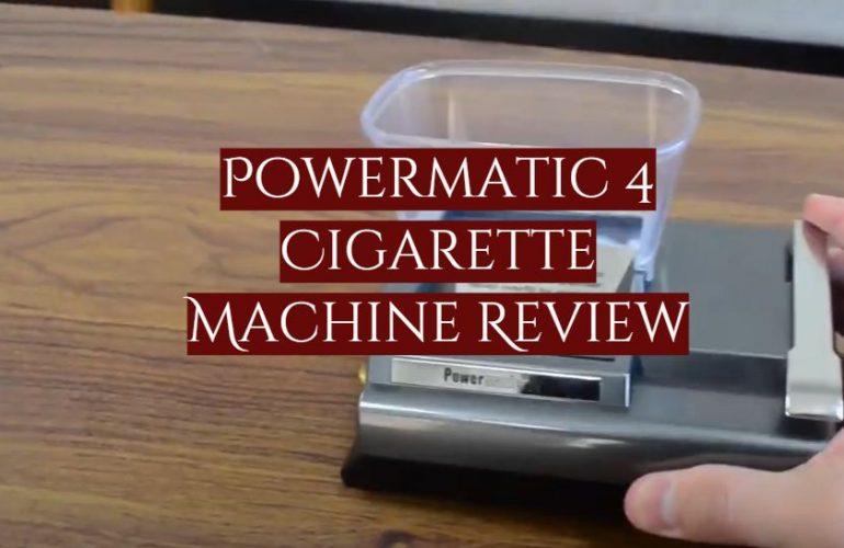 Powermatic 4 Cigarette Machine Review