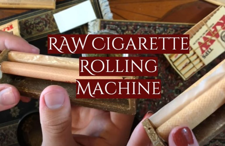 RAW Cigarette Rolling Machine Review