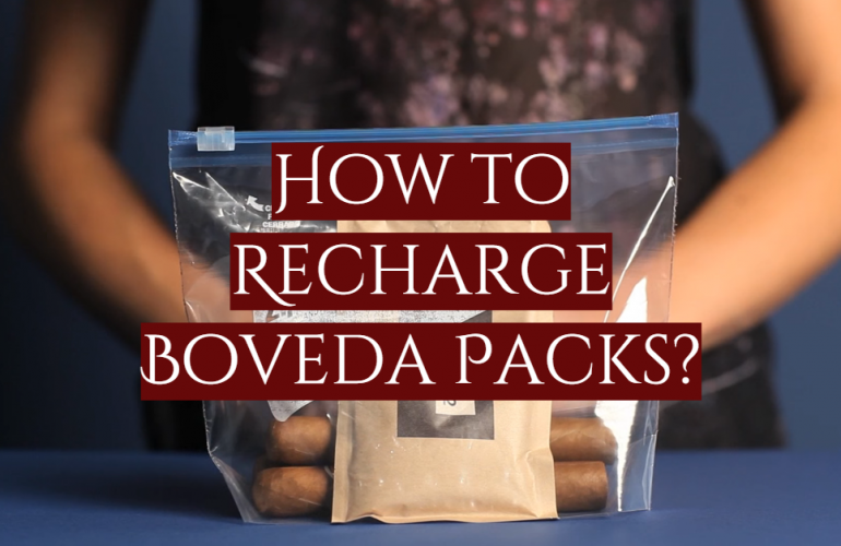 How to Recharge Boveda Packs?